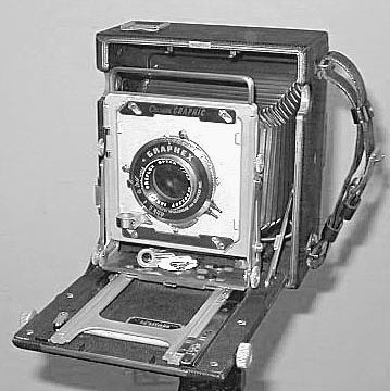 Crown Graphic 4x5 as a Field Camera
