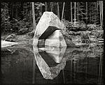 Click image for larger version.  Name:Rock, Reflection, Merced River, YNP_16x20.jpg Views:29 Size:105.1 KB ID:213457