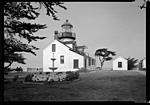 Click image for larger version.  Name:Pacific Grove Lighthouse B&W, scan.jpg Views:24 Size:54.8 KB ID:216621