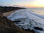 Click image for larger version.  Name:Montara beach sunset, 11.28.2019.jpg Views:65 Size:68.3 KB ID:198980